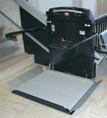 plateforme cama escalier doit et courbe